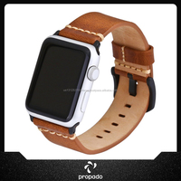 Wrist Watch Band Belt Strap Leather Band Loop For Apple Watch 42mm