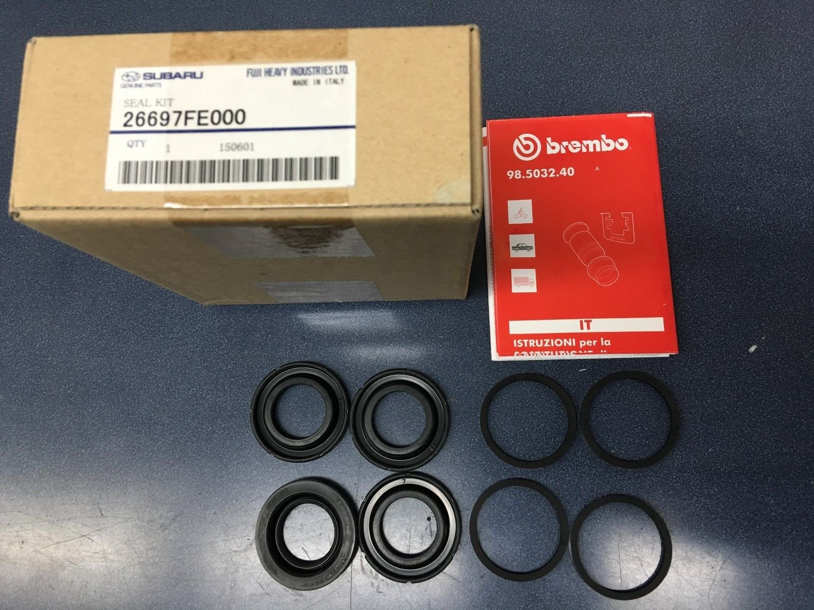 Genuine OEM Subaru Engine Crank Rear Main Oil Seal WRX Legacy Forester 806786040