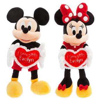 New style Plush Mickey Minnie mouse kids toy