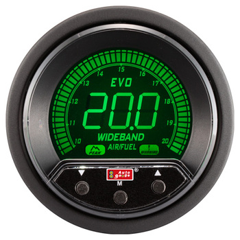 52 mm LED EVO PK AIR FUEL RATIO WIDEBAND GAUGE