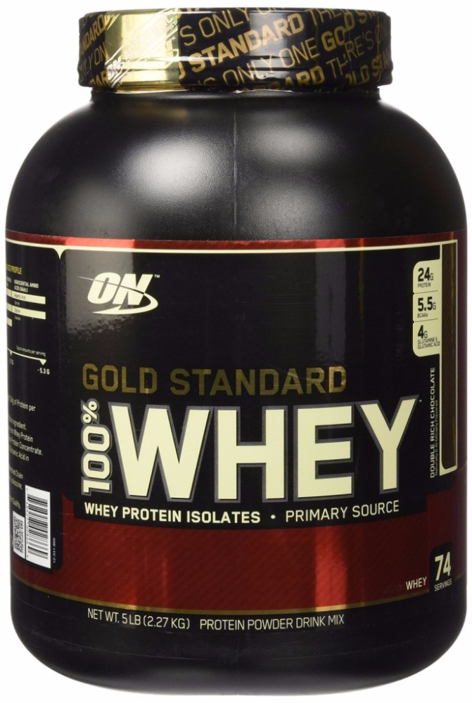 Vanilla Flavored Whey Protein Supplement Gold Standard