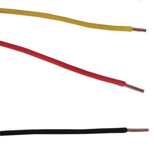 """16 AWG Gauge Stranded Hook Up Wire Orange 500 ft 0.0508/"""" UL1007 300 Volts"""