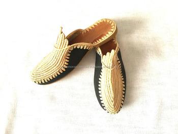 7d60a66d746e Superb Handmade Moroccan Raffia Shoes - Buy Handmade Knitted ...
