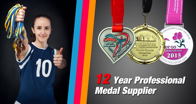 Longzhiyu 13 năm trung quốc nhà cung cấp chuyên nghiệp y tế đáp ứng đội huy chương kim loại tự động tấm huy chương thể thao giải thưởng huy chương triathlon
