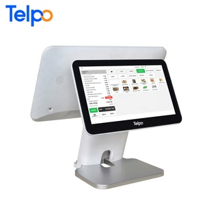 TFT LCD Touch screen terminal for restaurant and supermarket pos software