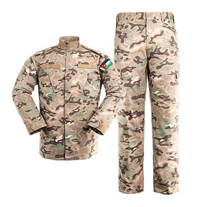 Garment factory of army uniform and army camouflage uniform