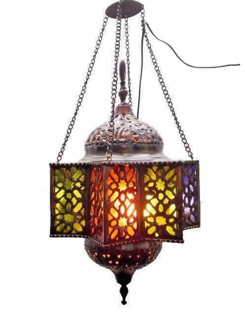 Br36 Cast Br Outdoor Decorative Egyptian Pendant Lamp Light Fixture