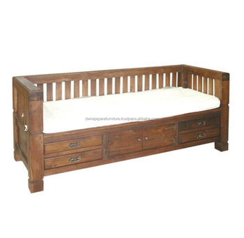 Brilliant Indoor Furniture Wooden Teak Sofa Bed Classic Bali Style Buy Wooden Teak Sofa Wooden Classic Teak Sofa Bed Bali Teak Sofa Bed Design Product On Machost Co Dining Chair Design Ideas Machostcouk