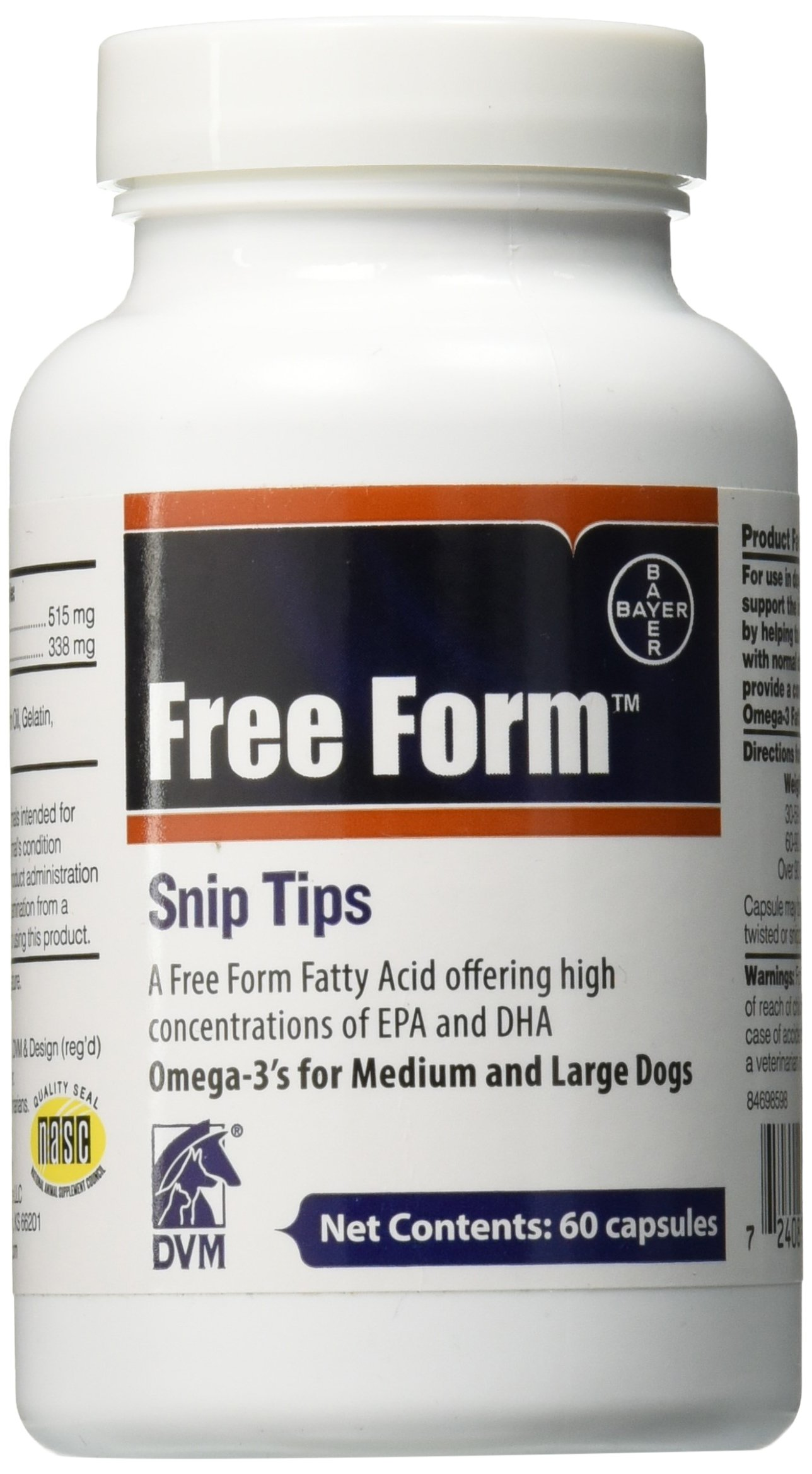 Bayer Free Form Snip Tip Nutritional Supplements