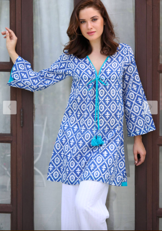 Wholesale Indian embroidery Kurtis for women
