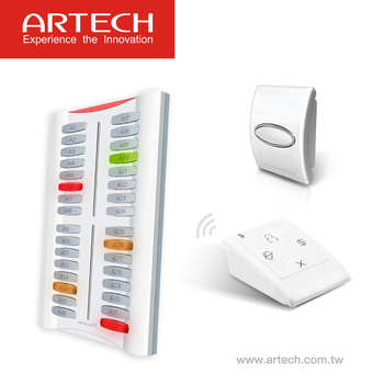 ARTECH S1 - Wireless Service Bell with service buttons