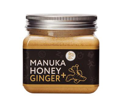 Safe and Flavorful Pure Organic MANUKA Ginger Lemon Honey Made in Australia
