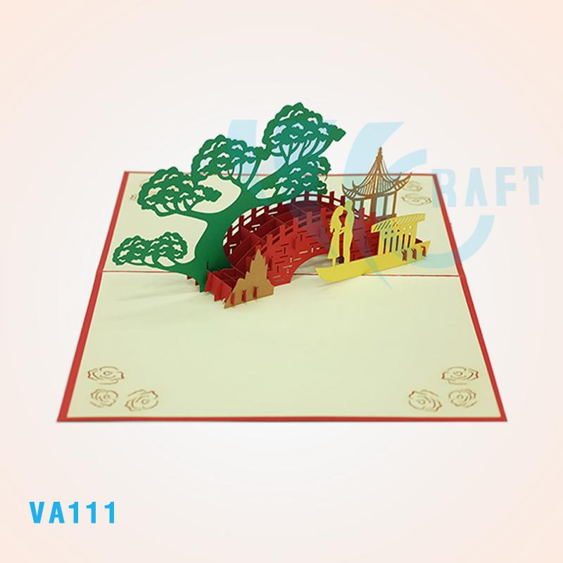 Объемные открытки вьетнам, люблю тебя