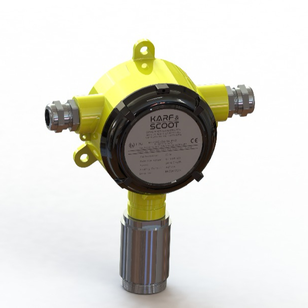 Multi Gas Leak Detector For All Flammable Gases - CE and ATEX Approval (Fixed Gas Detector, Gas Alarm, High Sensitivity )