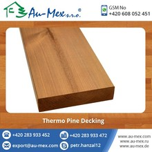 Top Quality Pine Wood Decking Planks at Reliable Price
