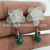 Bridal earring multi gemstone jewelry 925 sterling silver earrings jewelry exporters