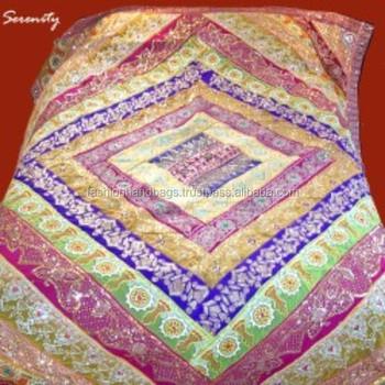 Indian Jaipuri Handmade Bed Sheet