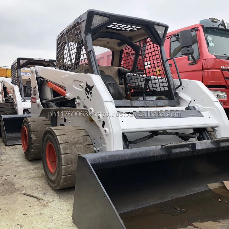 Bobcat usadas S160 Mini Skid Steer Loader Para Venda