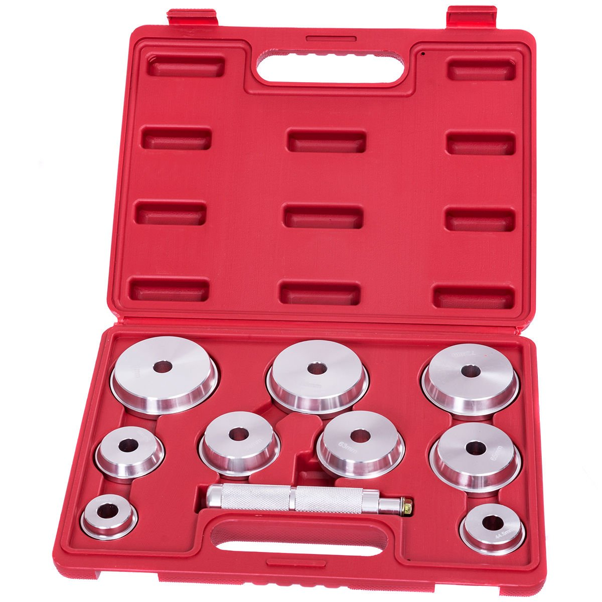 Goplus 10 PCS Wheel Axle Bearing Race and Seal Driver Installer Set Car Garage Tool Kit