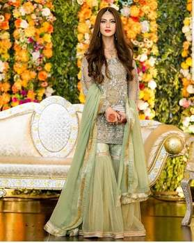 Designer Pakistani Lawn/Linen N Cotton Embroidered Suits