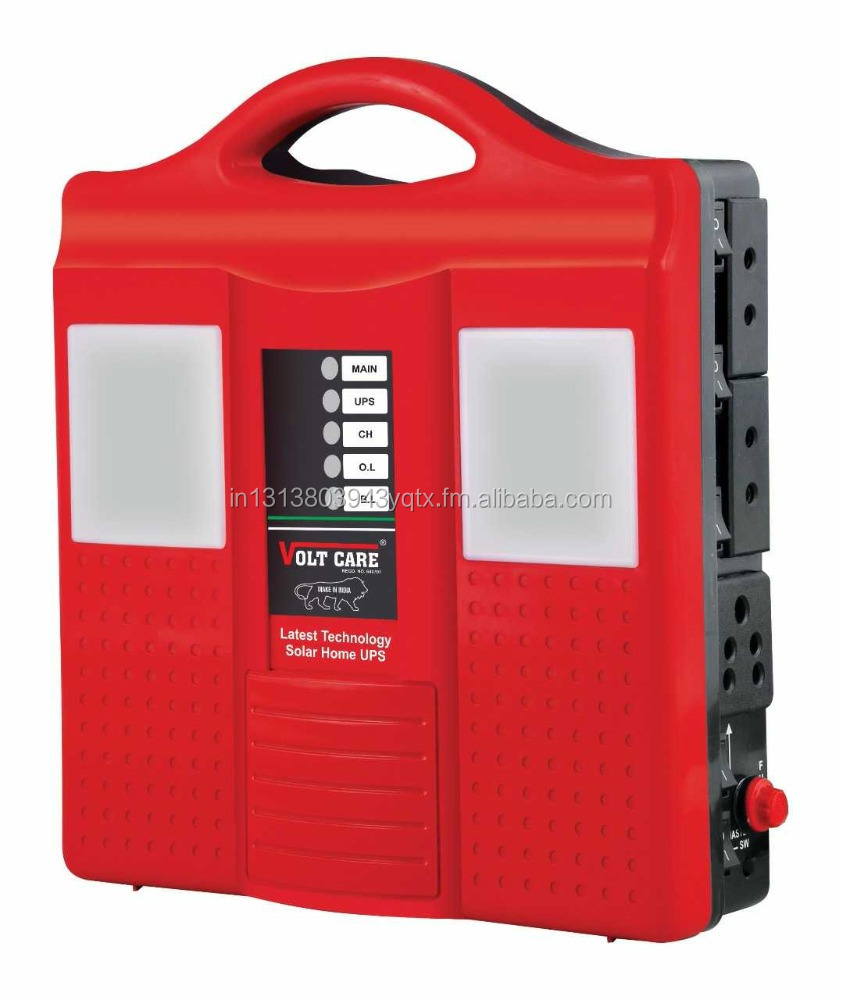 Voltcare Cfl Inverter Solar Ups With Front Leds And Battery Shutter
