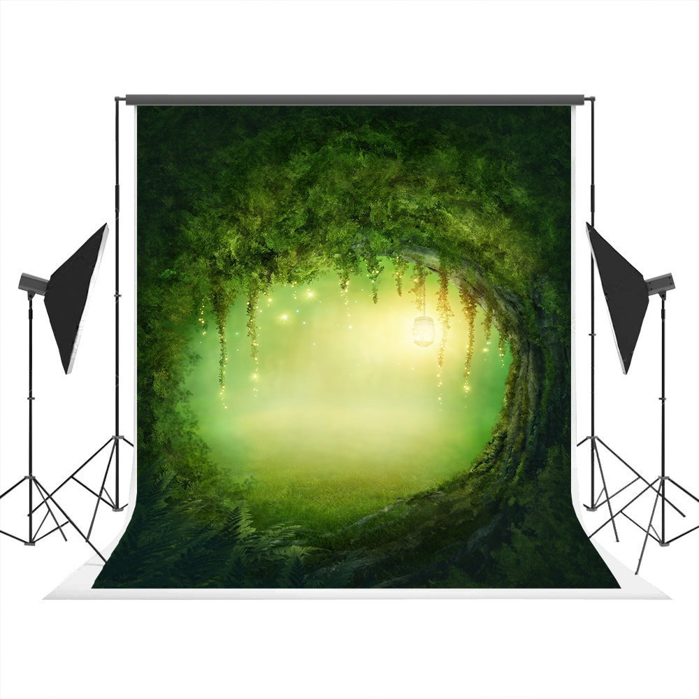Get quotations · natural scenery photography backdrop 5x7ft child birthday photography background forest photography studio props foldable washable