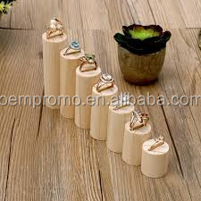 Wooden/bamboo jewelry display holder/wood rack for jewelry display