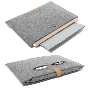 "11.6 13.3 15.4 inch Wool Felt Notebook Laptop Sleeve Bag Case hot selling 11 13 15"" Laptop Bag Cover Case"