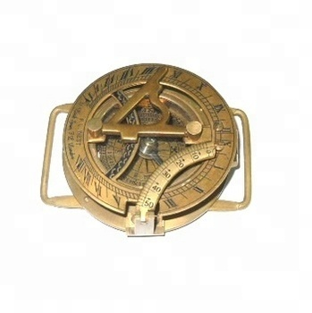 Nautical Antique brass sundial Compass