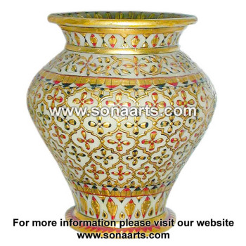 Decorative Showpiece Marble Flower Vases At Best Prices In India