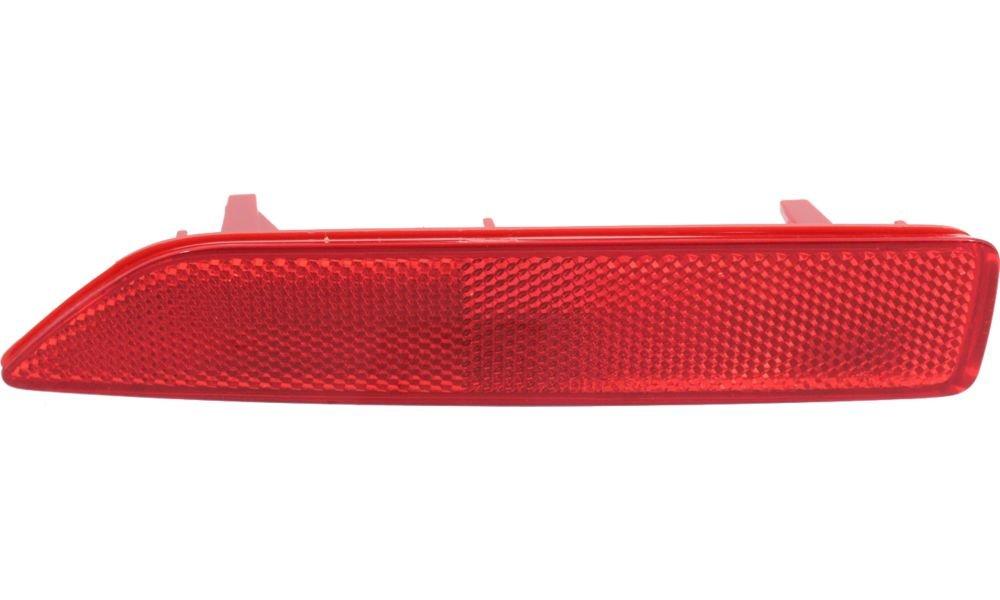 Evan-Fischer EVA23972033095 Bumper Reflector Rear Driver Side LH Lamp Light