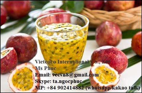 FRESH/FROZEN PASSION FRUIT FROM VIET NAM