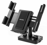 Universal Tablet/Smartphone Desktop/Wall Mount Stand, Permanent or Portable Suction Cup