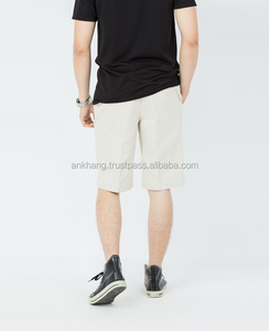 High quality canvas slim fit bermuda short for men