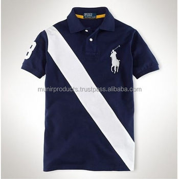High Quality Oem Service Pima Cotton Plain Mens Polo T