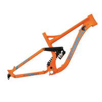 X-COBRA Piercer 240 downhill mtb frame full suspension 27.5 aluminum bicycle frame