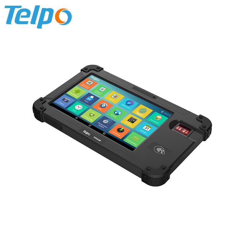 Personalizzato Iris Sistema di Riconoscimento A Prova di Esplosione Tablet Con Doppia Fotocamera opzionale per Coffee shop
