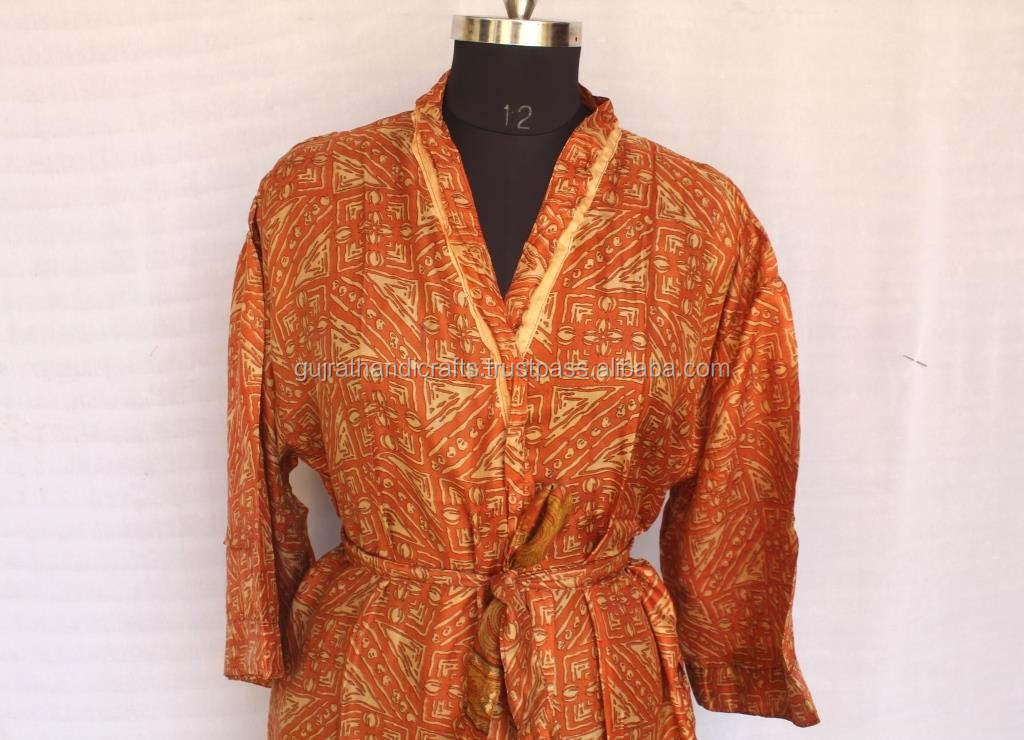 Vintage Silk Saree Women Full Size Night Wear Kimono Night Gown Robe Women Maxi Dress Buy Satin Maxi Dress New Look Maxi Dress Long Sleeve Silk Robes Product On Alibaba Com