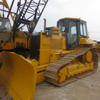 Low price Caterpillar D6M crawler bulldozer on sale ,used D6M CAT crawler bulldozer in Shanghai