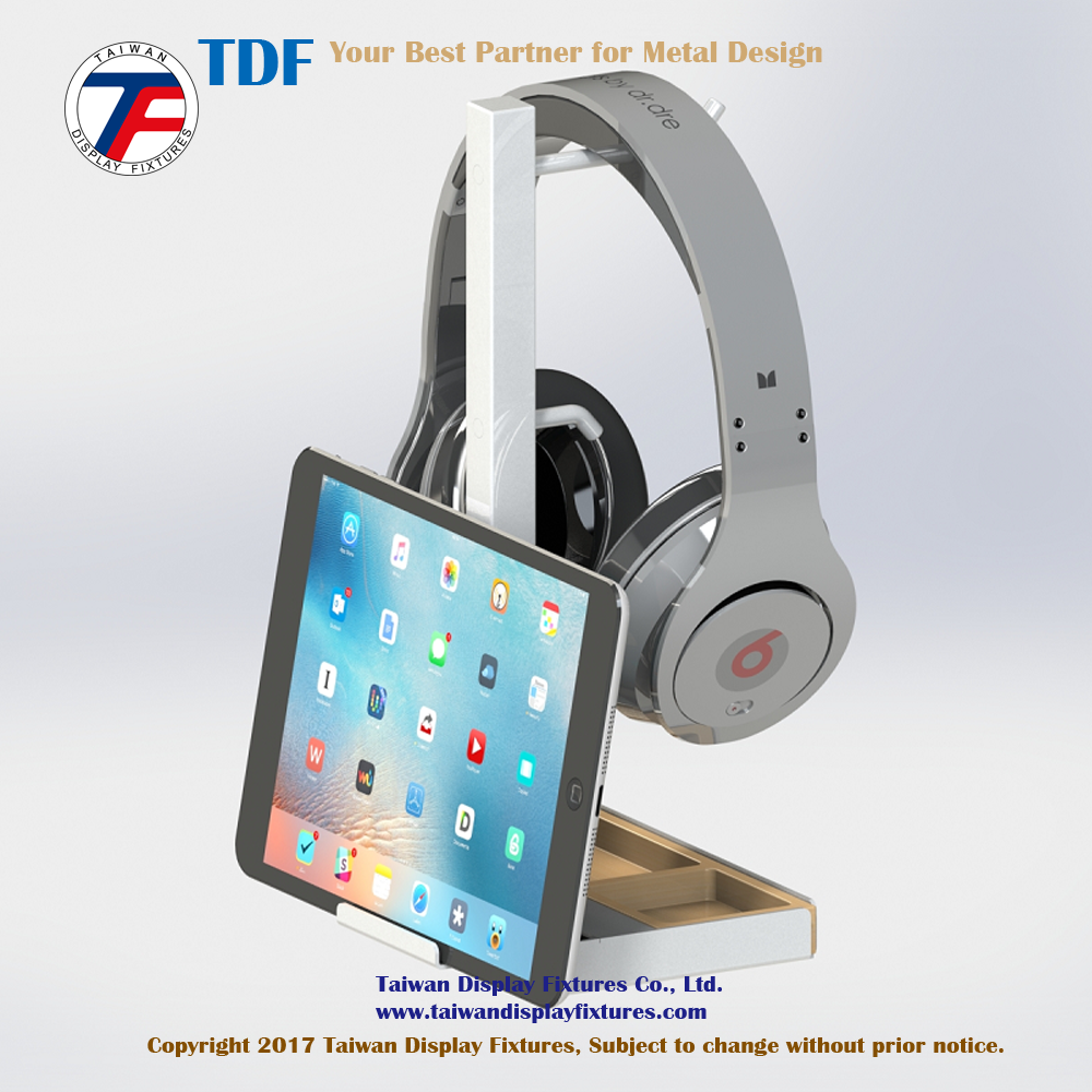 New Design Portable Headphone and Phone Holder