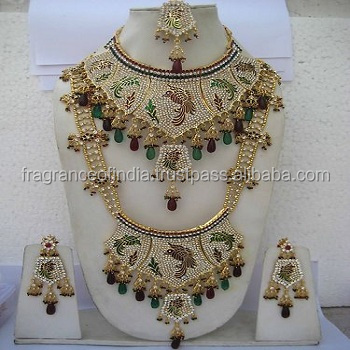 Fashion Jewelry Asian Bridal Wedding Bollywood Jhumer Passa Traditional Jewellery Hairaccessory Factory Direct Selling Price Jewelry & Watches
