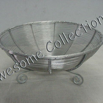 Decorative Aluminium Wire Bowl