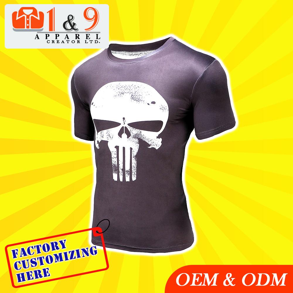 Custom Design Good Quality Stylish Promotional Round Neck T Shirt