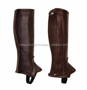 RIDING HALF CHAPS LADIES PROFESSIONAL HALF CHAPS BROWN SMALL