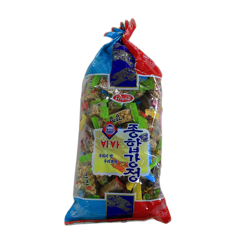 High quality best selling sweet and hard Healthy Assorted gangjung(S) Oat Cracker and Biscuit Flavor Candy