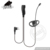 RayTalk 2 Pin Ear- Clip Ear Hook Security Earpiece Headset Earphone PTT and Mic REMB-0227