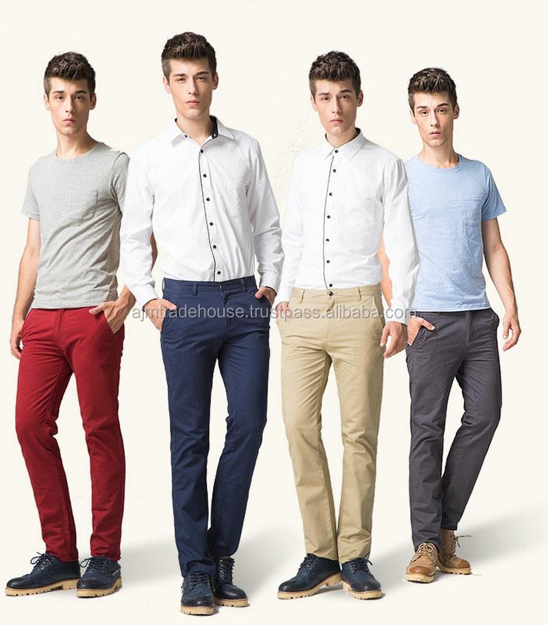 Chino Pants Best Quality Chinos Fleece Pants Men Fashion Trousers