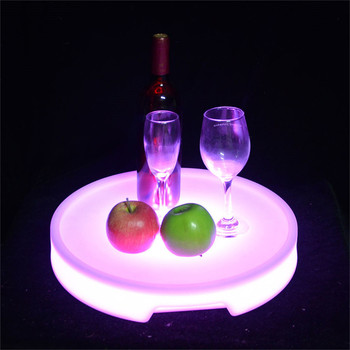 led bar wine tray bottle service custom logo luminous led ice bucket