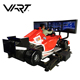2018 Big profit hot sale indoor VART F1 vr htc vice cinema simulator cockpit car driving vr racing simulator with 3 screens