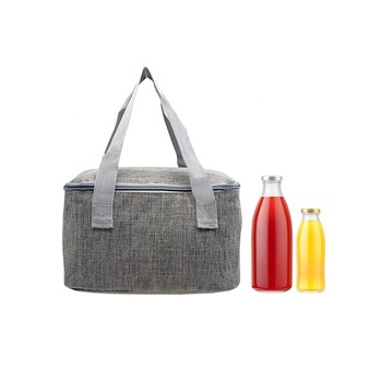 Insulated foldable cooler bag extra large picnic lunch bag box travel ice bag food